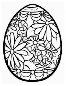 easter colouring pages for kindergarten
