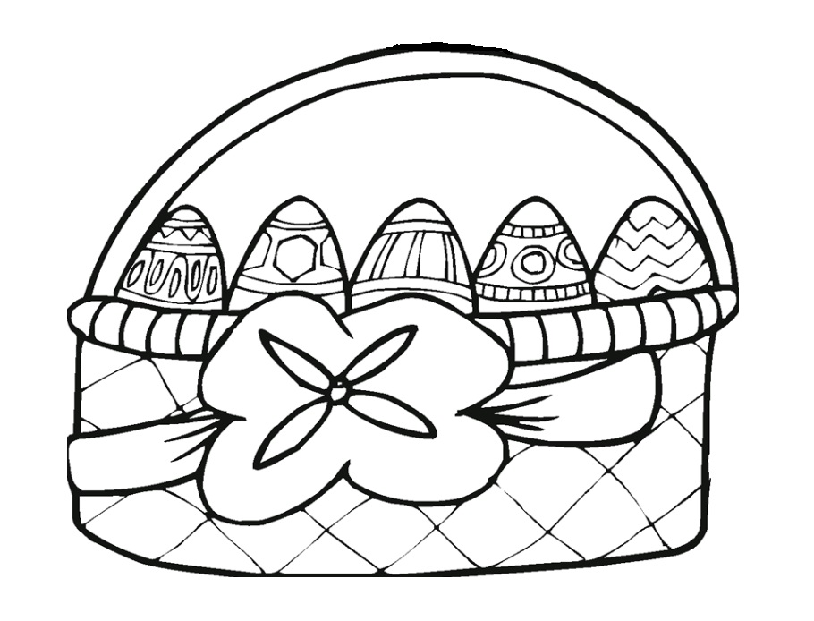 easter egg colouring pages for preschool - Colouring Pictures For Preschoolers