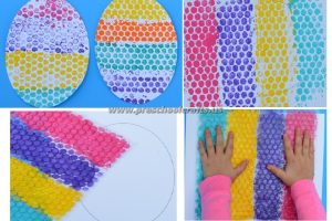 easter egg crafts for preschool