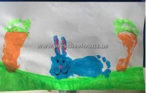 easter footprint bunny crafts for kidseaster footprint bunny crafts for kids
