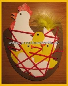 easter kids chick crafts