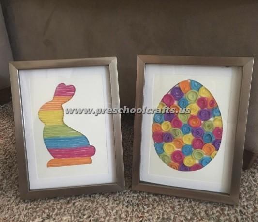 Easy easter crafts preschool crafts for Easter crafts for kindergarten