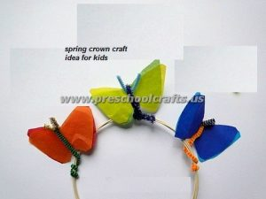 easy spring crown craft ideas for kids