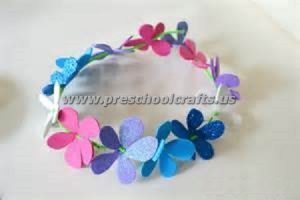 flower spring crowns