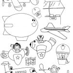 free printable Marine vehicles coloring pages for toddler, preschool and kindergarten