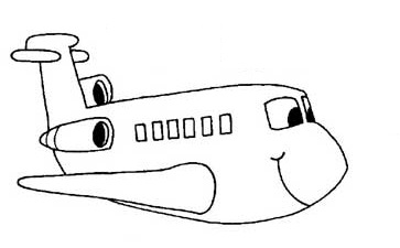 free printable airplane vehicles coloring pages for toddler preschool and kindergarten