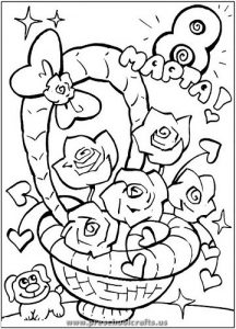 free printable womens day coloring pages for kids