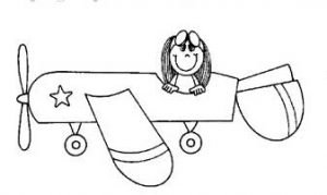 free sailplane vehicles coloring pages for toddler, preschool and kindergarten