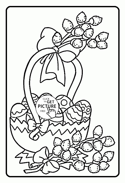 egg coloring pages for preschoolers - photo#44