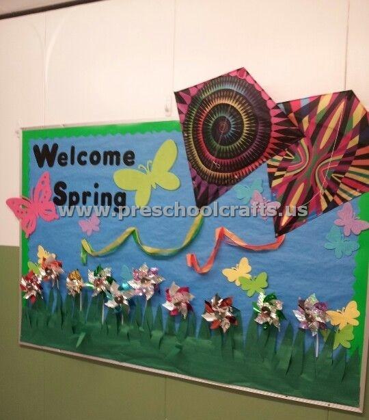 Spring Bulletin Board Ideas For Preschool Preschool And Kindergarten