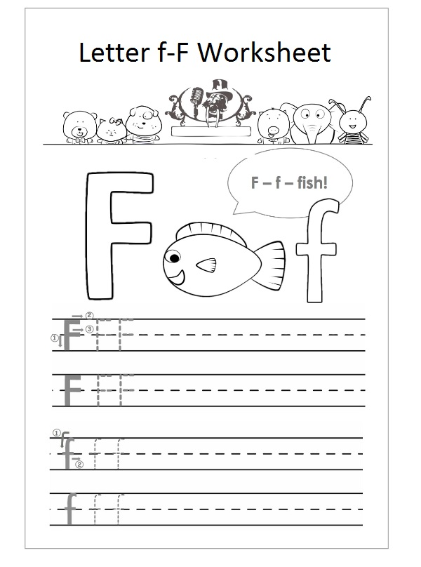 letter f worksheet preschool f is fish preschool crafts. Black Bedroom Furniture Sets. Home Design Ideas