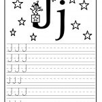 letter j worksheet for preschool