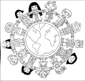 no racism coloring pages for toddler