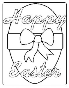 paskalya coloring pages for preschool