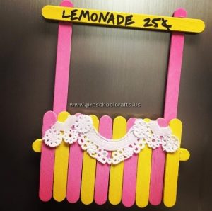 popsicle stick craft ideas for preschool