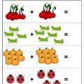 preschool math addition worksheet