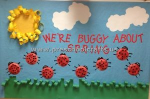 preschool spring bulletin board ideas