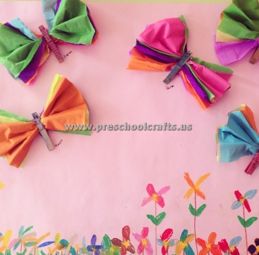 Spring craft ideas for kindergarten preschool crafts for Preschool spring craft ideas