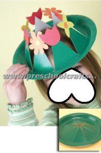 spring crown crafts