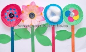 spring easy flower crafts for kids