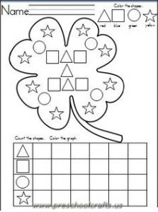 st patricks day worksheets for kids