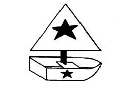 stars sailboat coloring pages for preschool and kindergarten - free printable