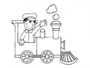 train coloring pages for preschool and kindergarten free printable