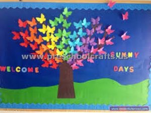 welcome spring seasons bulletin board ideas