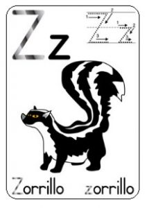 Alphabet Capital letter Z worksheet - free printable
