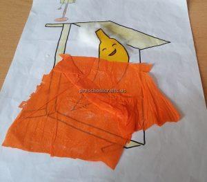 Banana Craft Ideas for Kindergarten - Spring Fruits Craft Ideas