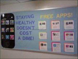 Bulletin board ideas for the health week for preschool