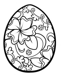 Coloring pages related to happy easter - easter coloring pages