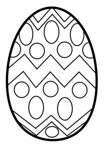 Coloring pages to happy easter