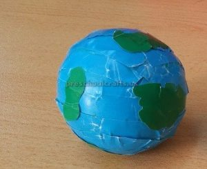 Craft ideas related to Earth Day Theme