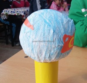 Craft ideas related to Earth Day Theme for Kindergarten