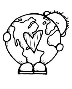 earth day coloring pages for