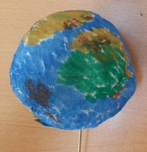 Earth Day Craft Idea for Kindergartner