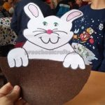 Easter Bunny Craft for Kindergarten
