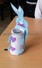 Easter Bunny Craft for Preschoolers