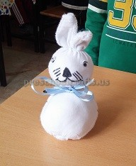 Easter Bunny Craft for Toddler