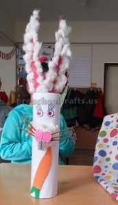 Easter Rabbit Craft for Kindergartner