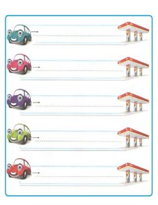 Free Printable Tracing Line Worksheet for Preschool Teachers