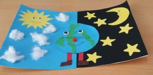 Happy Earth Day Craft Idea for Preschool