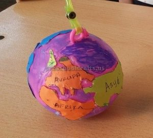 Happy Earth Day Craft Idea for Preschooler