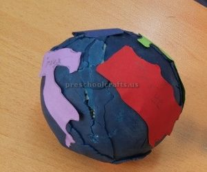 Happy Earth Day Craft Idea for Preschoolers