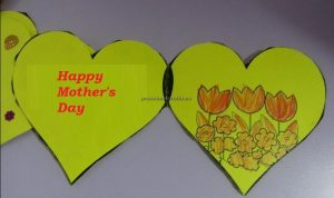 Happy mothers day flower crafts ideas for kids