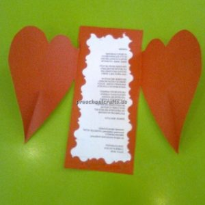 Happy mother's day heart crafts ideas