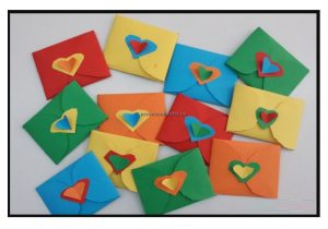 Happy mother's day letter crafts ideas