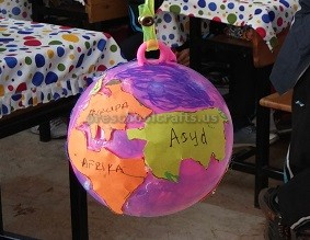 Kindergarten Earth Day Theme Craft Ideas