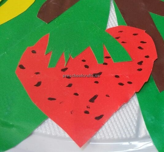 Strawberry Craft Ideas For Preschool And Kindergarten Preschool